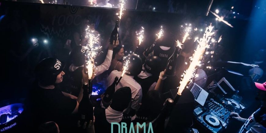VIP Table booking at Drama Park Lane