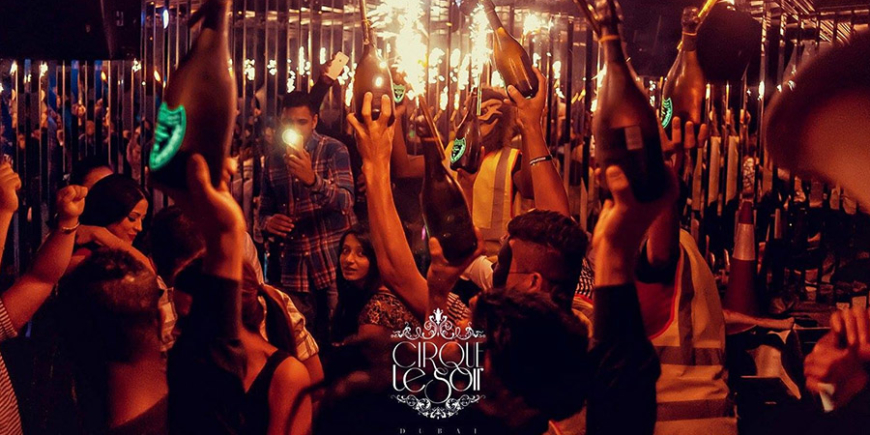 VIP Birthday Packages at Cirque Le Soir