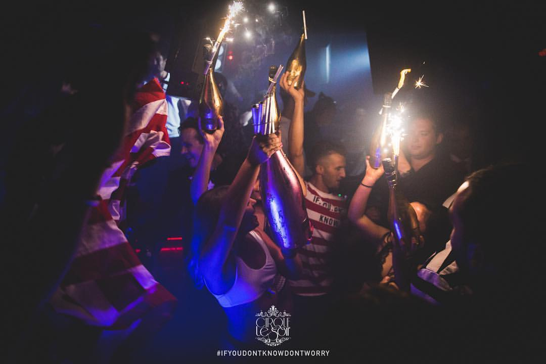 Cirque Le Soir Door Policy