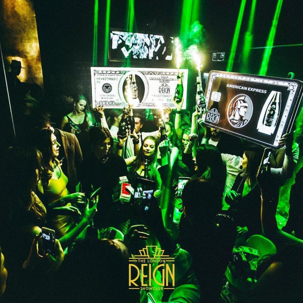 reign showclub party