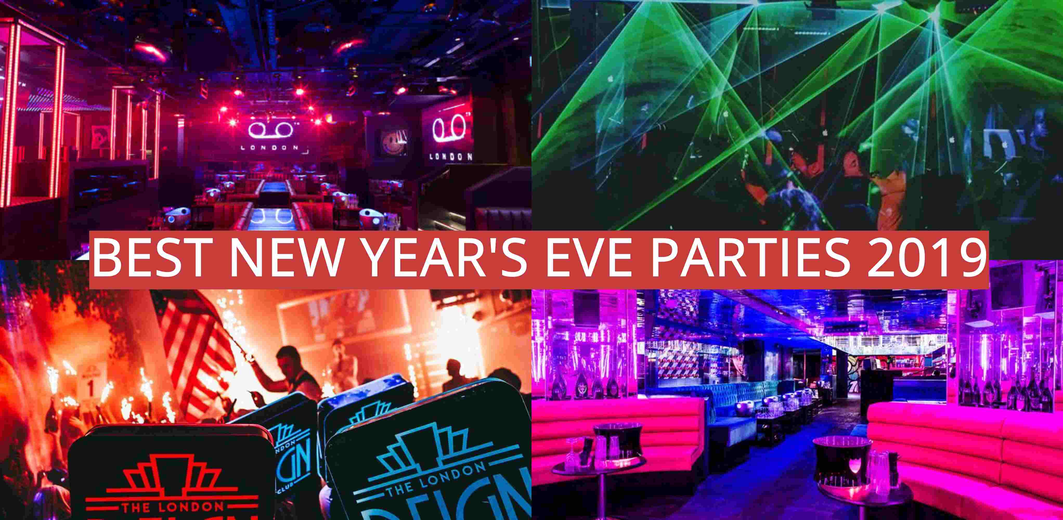 Best New Year's Eve Parties 2019 Nightclubs London
