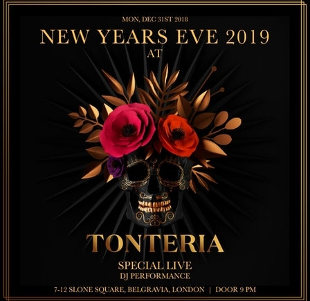 Tonteria London NYE 2020