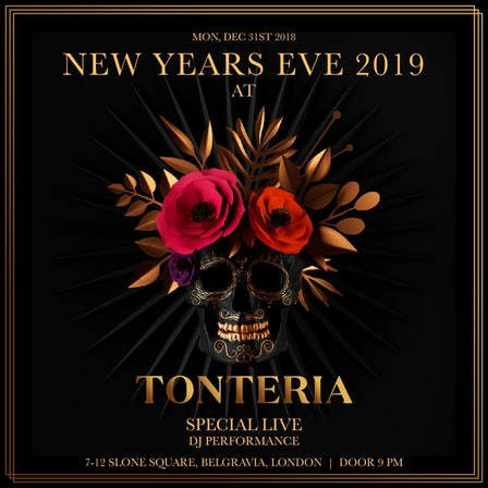 Booking for New Year's Eve at Tonteria 2019