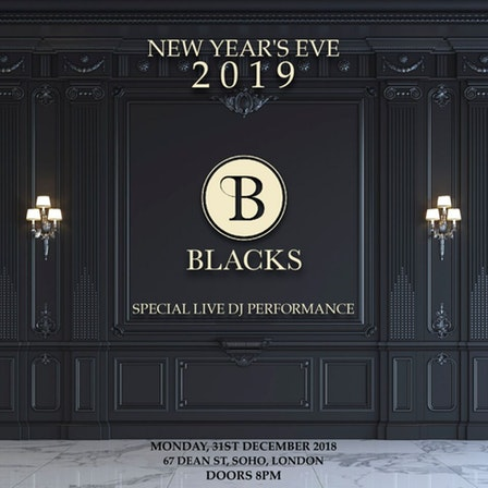 Nightclubs London New Year's Eve 2019 Ticket Booking