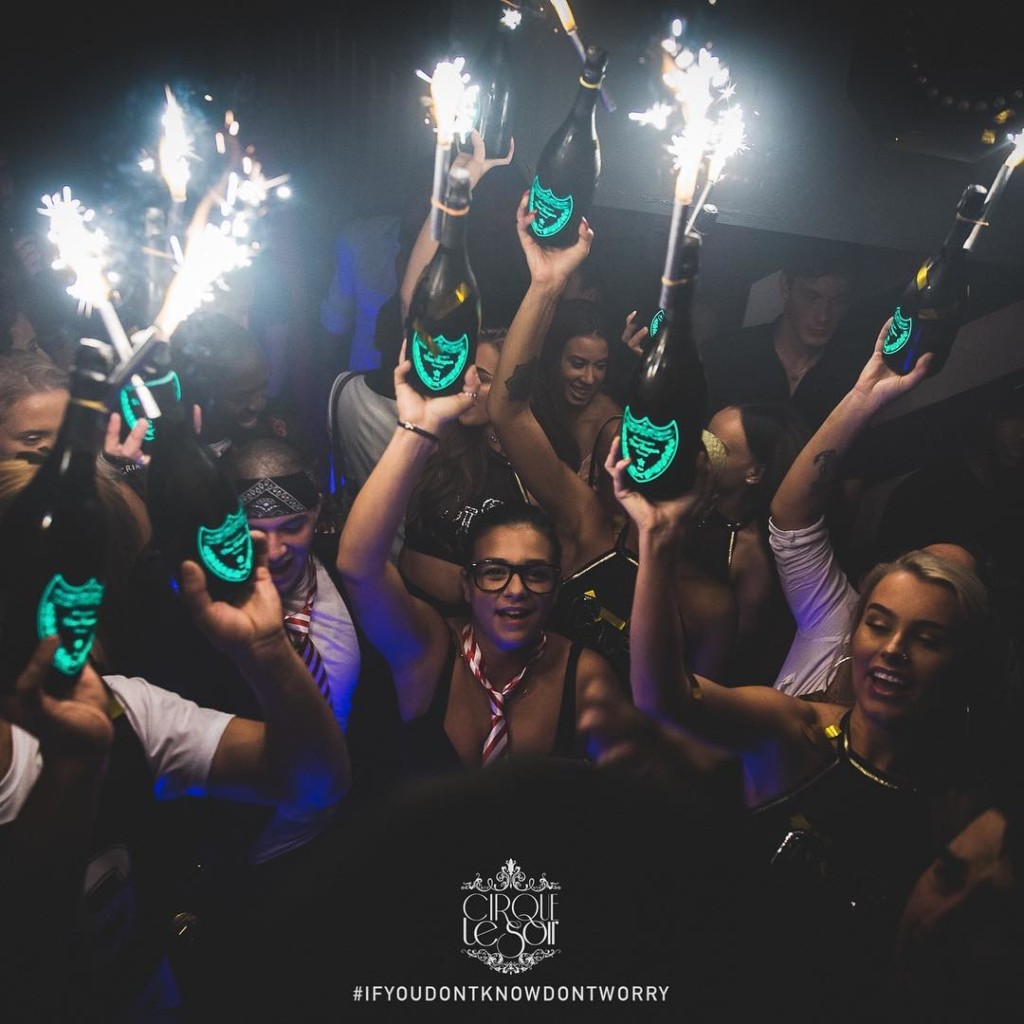 New Year's Eve 2018 at Cirque le Soir London