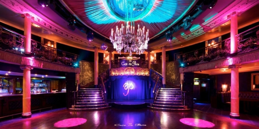 New Years Eve Party 2019 at Cafe de Paris