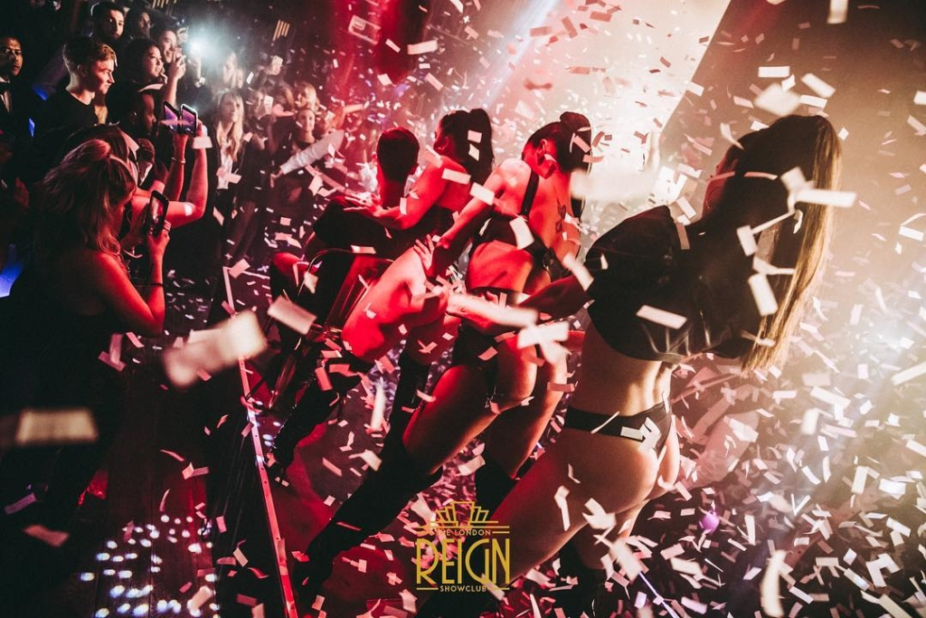 New Year's Eve at Reign Showclub 2019