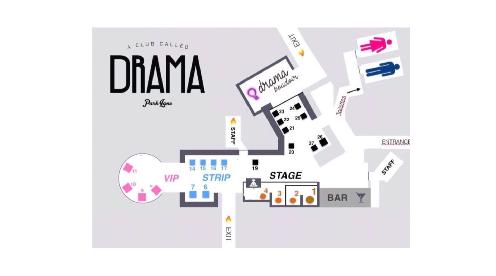 drama table map
