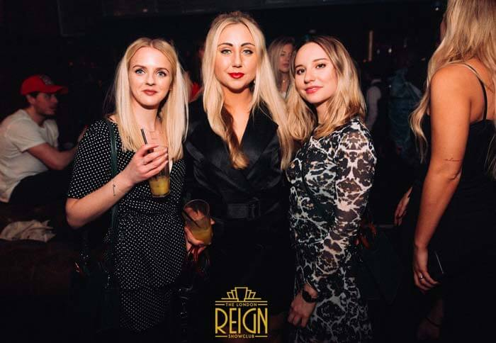 reign showclub table booking