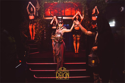 London reign showclub halloween