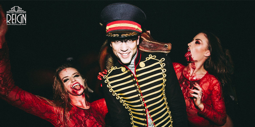 Halloween at Reign Showclub London
