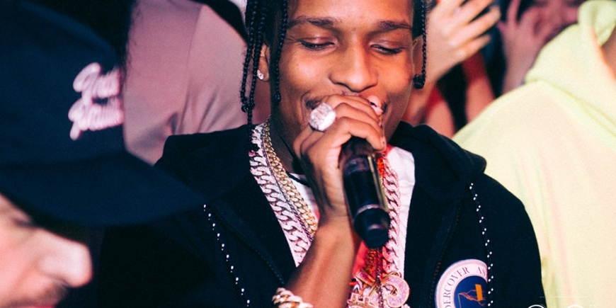 A$AP Rocky at Tape London