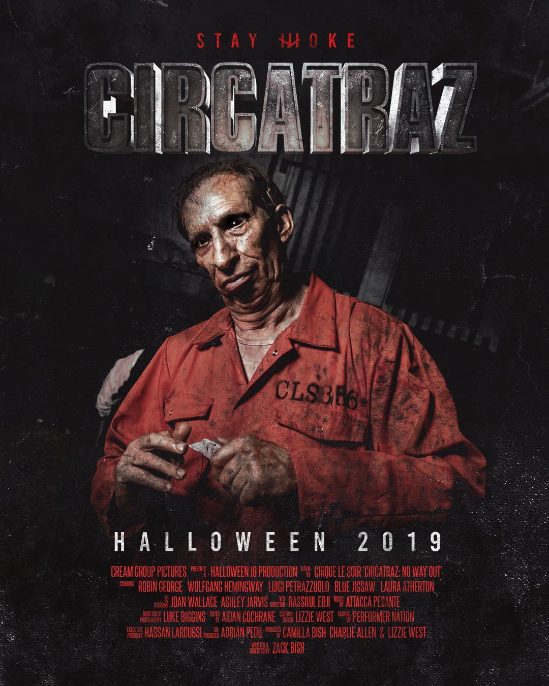 CIRCATRAZ Cirque le Soir Halloween Party London 2019