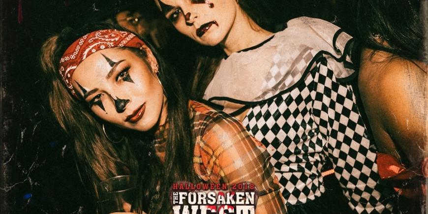 Halloween Booking At Cirque le Soir London