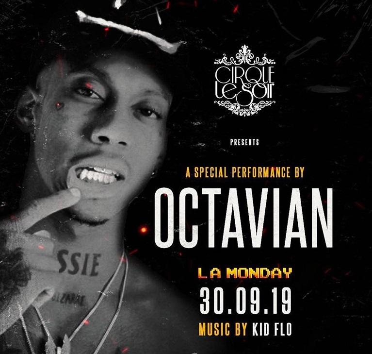 octavian at cirque le soir london
