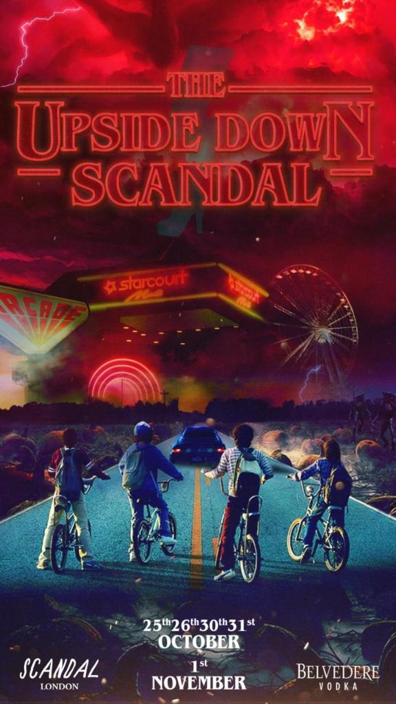 scandal halloween booking 2019