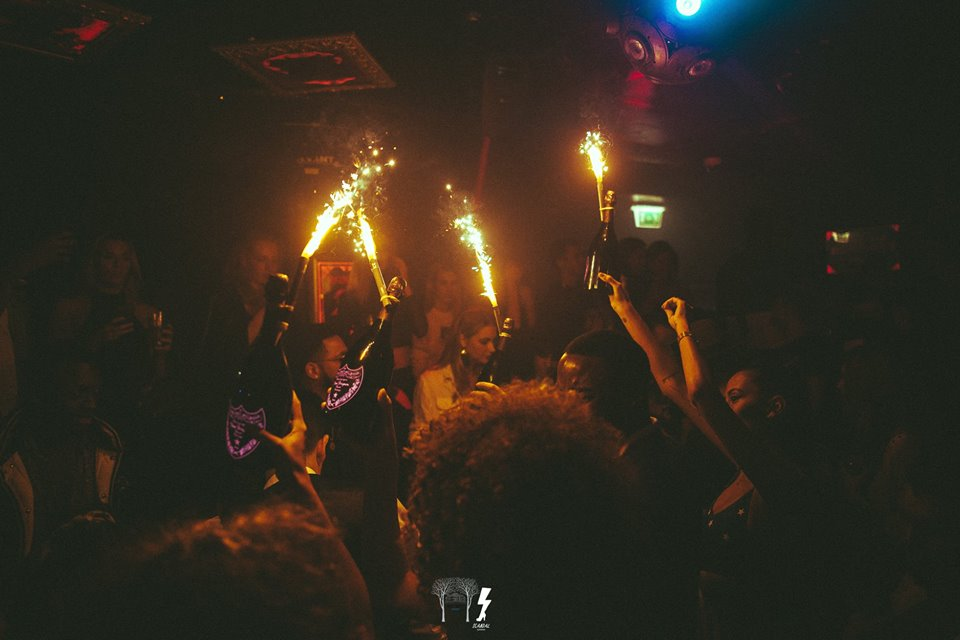 new year's eve at scandal club London