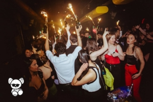 new year's eve party at toy room