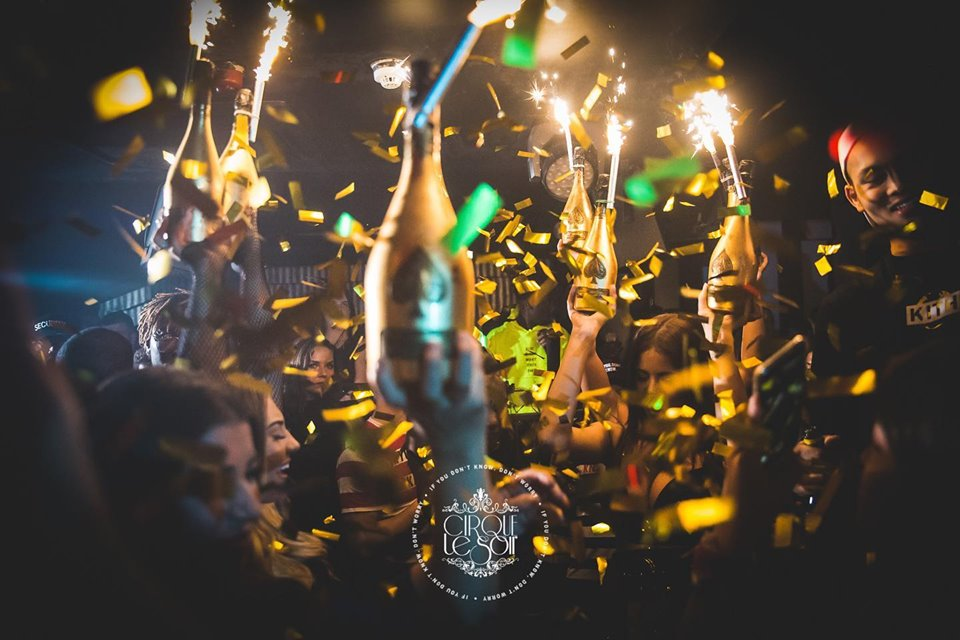 new year eve events in London nightclub