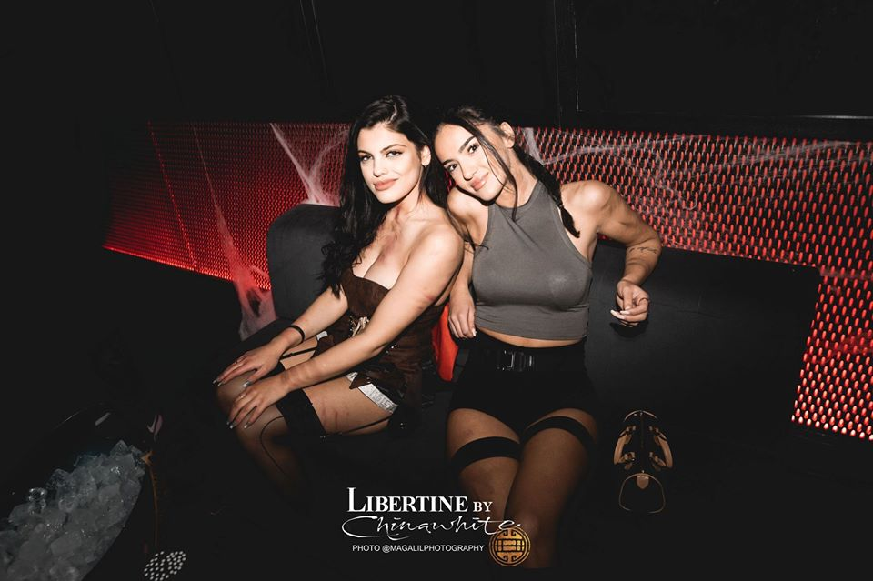 girls in libertine table and guestlist booking