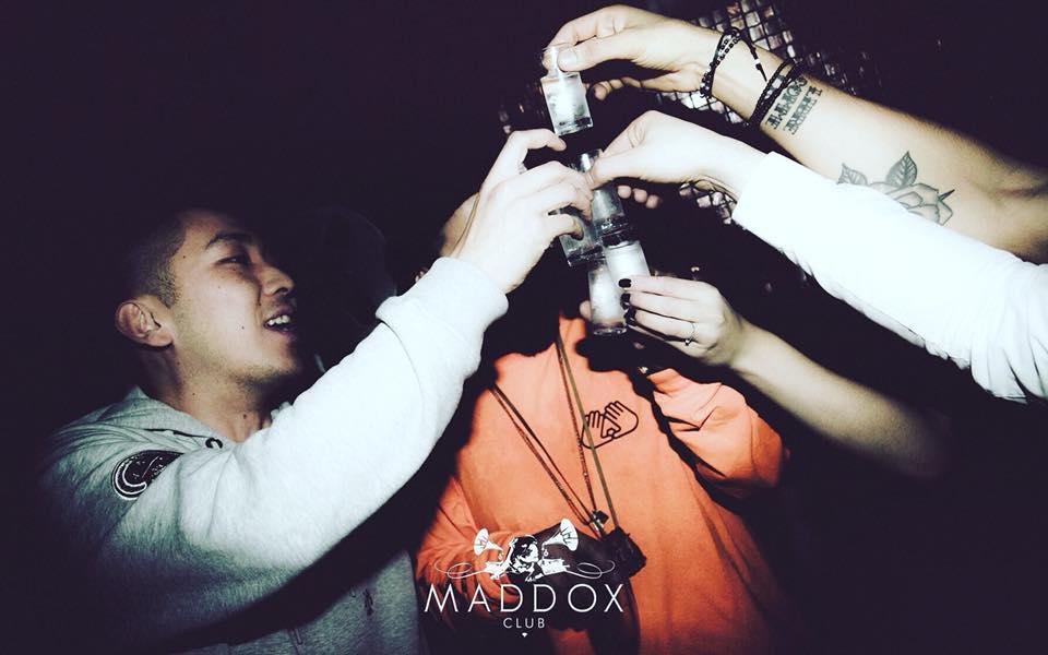 table booking at maddox