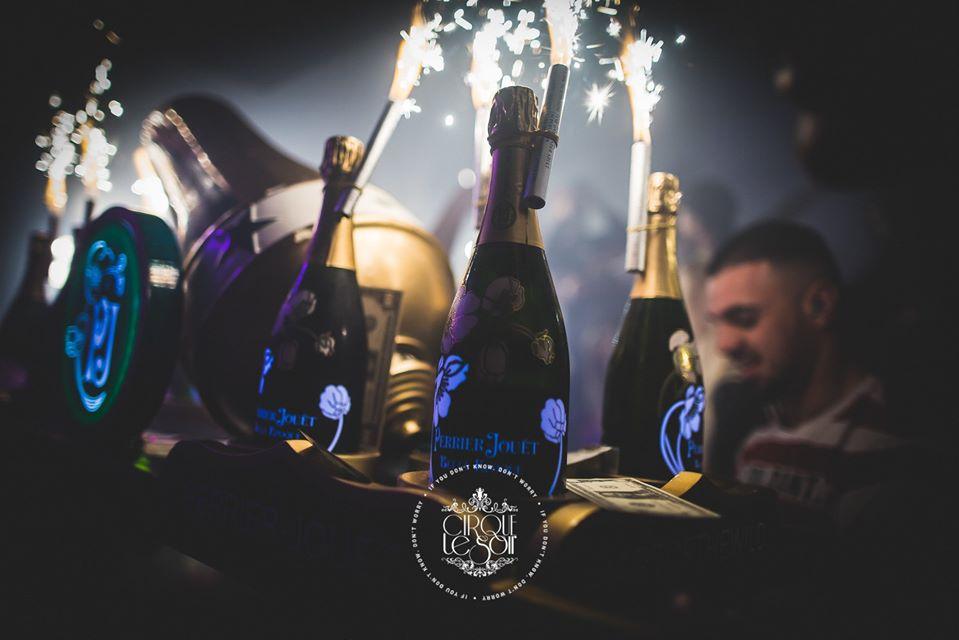 Bottle Prices Menu At Cirque le Soir London